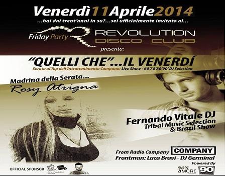 revolution venerdi